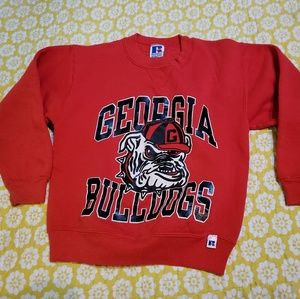 Vintage Georgia Bulldog Youth Small Sweatshirt